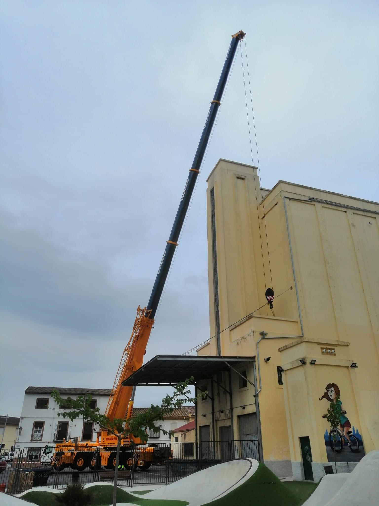 Remodelación del Edificio del Silo de Padul