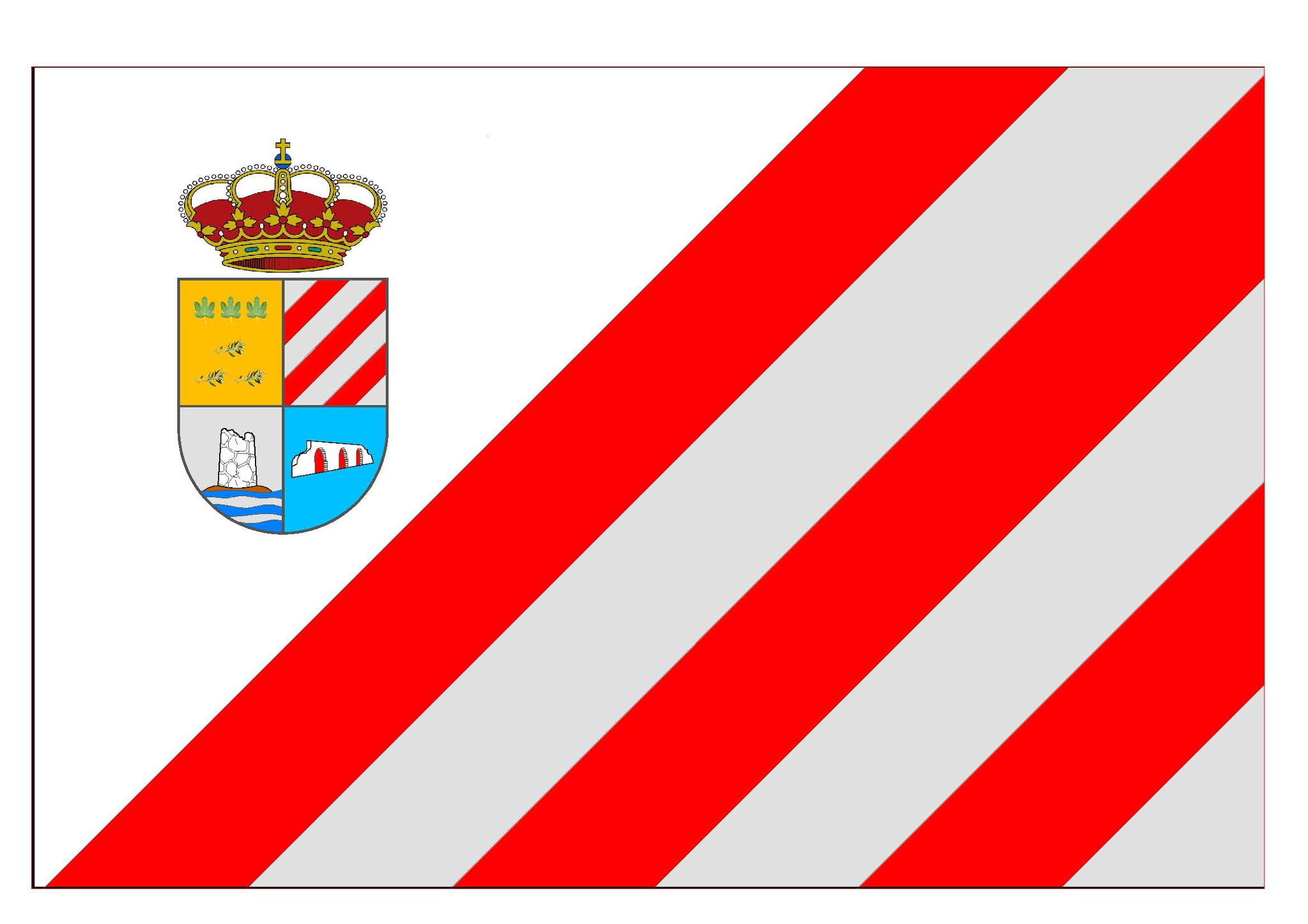 Bandera de Villamena
