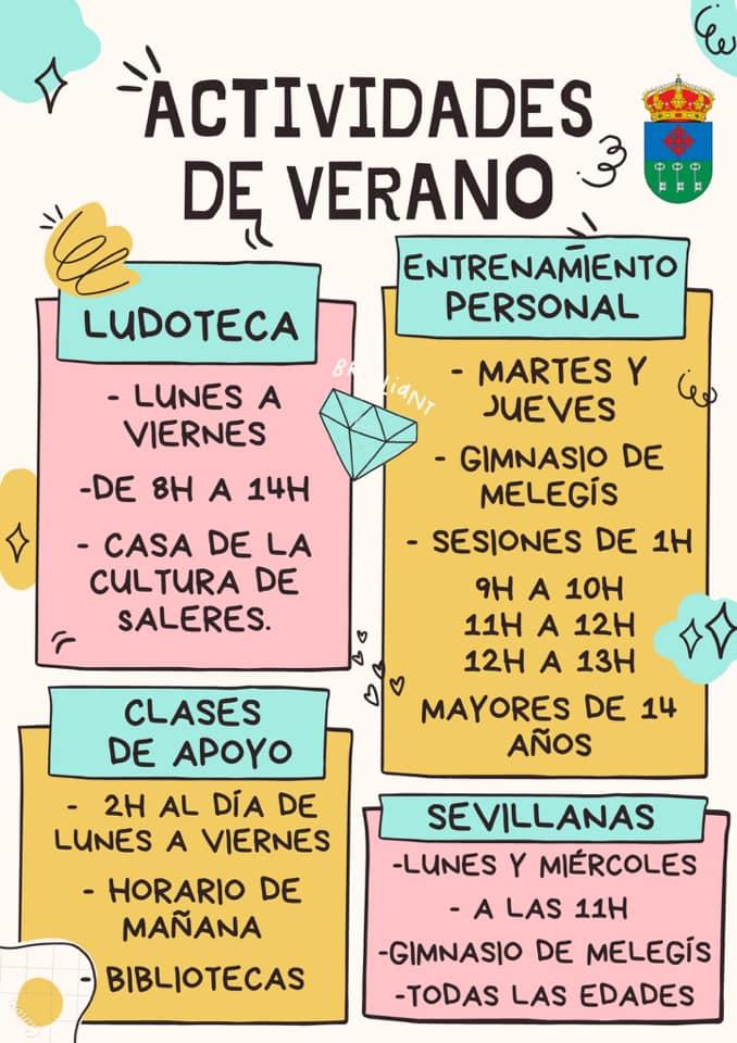 ACTIVIDADES DE VERANO EL VALLE