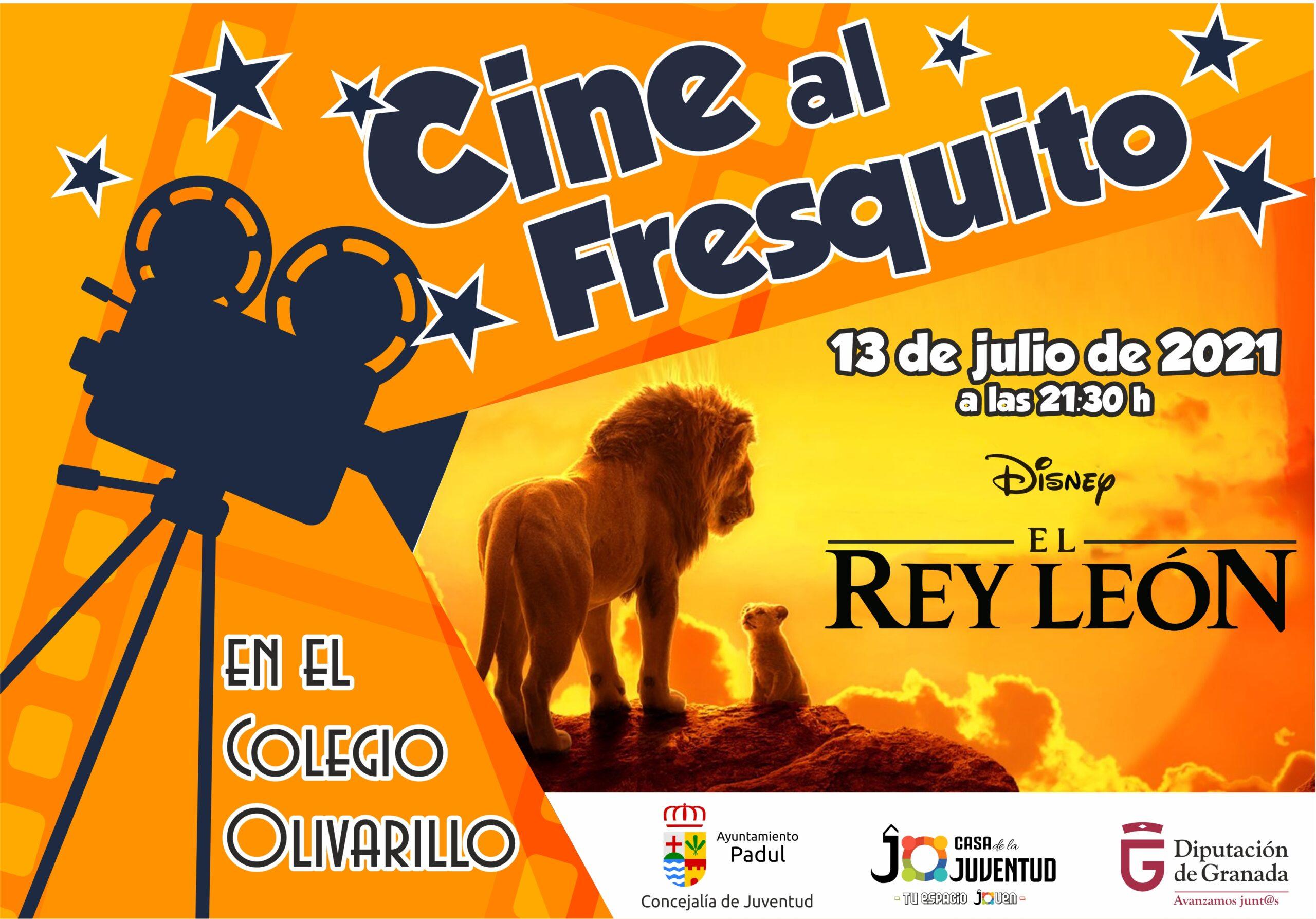 Cine al fresquito El Rey León