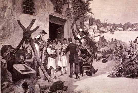 El cólera en 1885. Recreación histórica