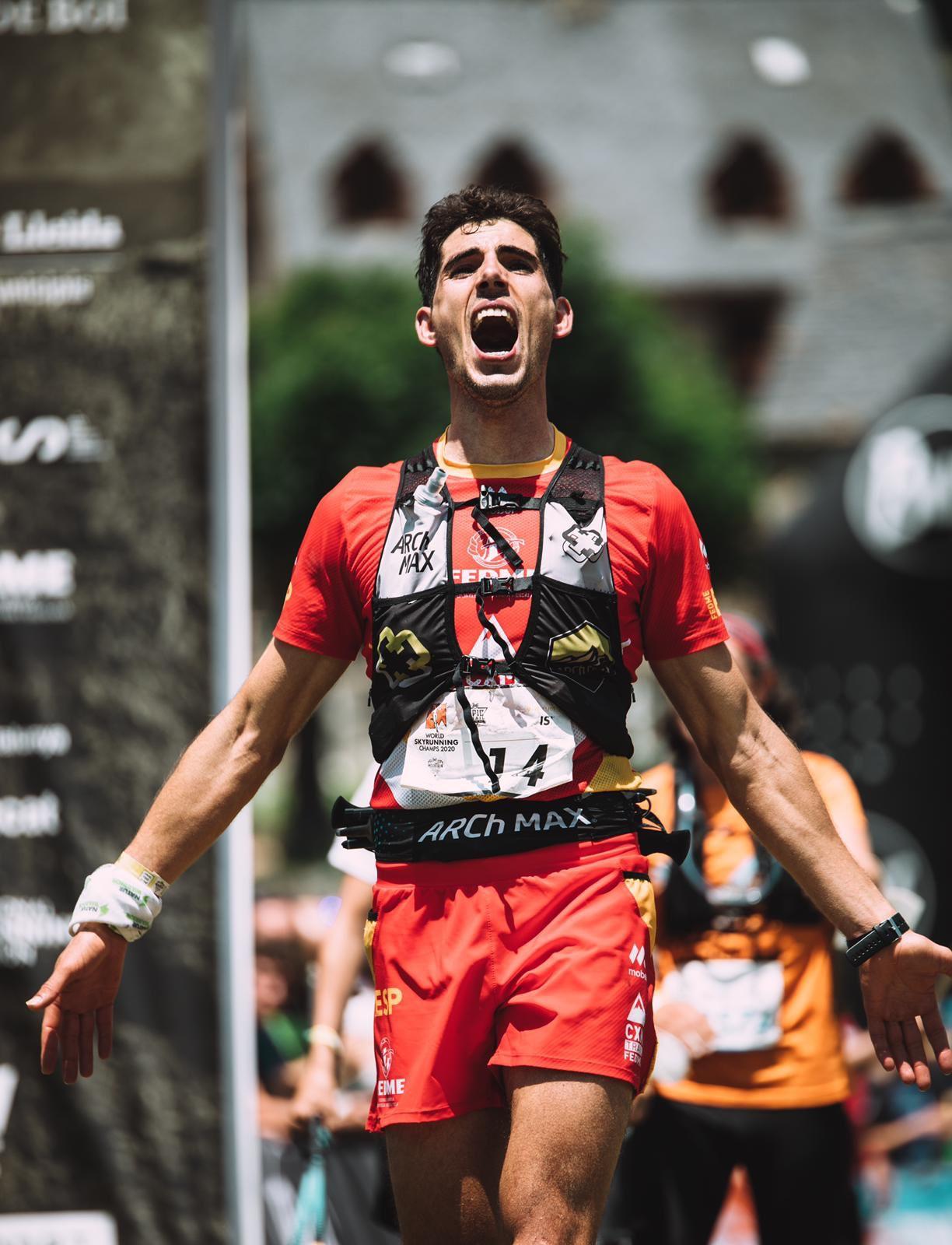 El cozvijeño Manu Anguita, subcampeón del mundo de ultra