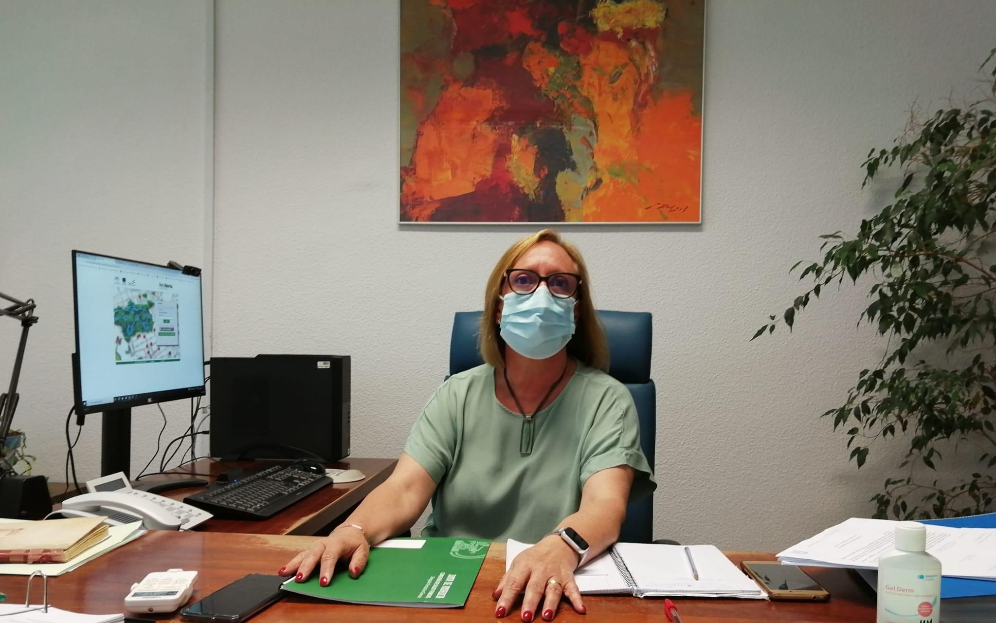 María del Mar Mochón. Jefa de Salud Pública de la Delegación territorial de Salud y Familia de la Junta de Andalucía