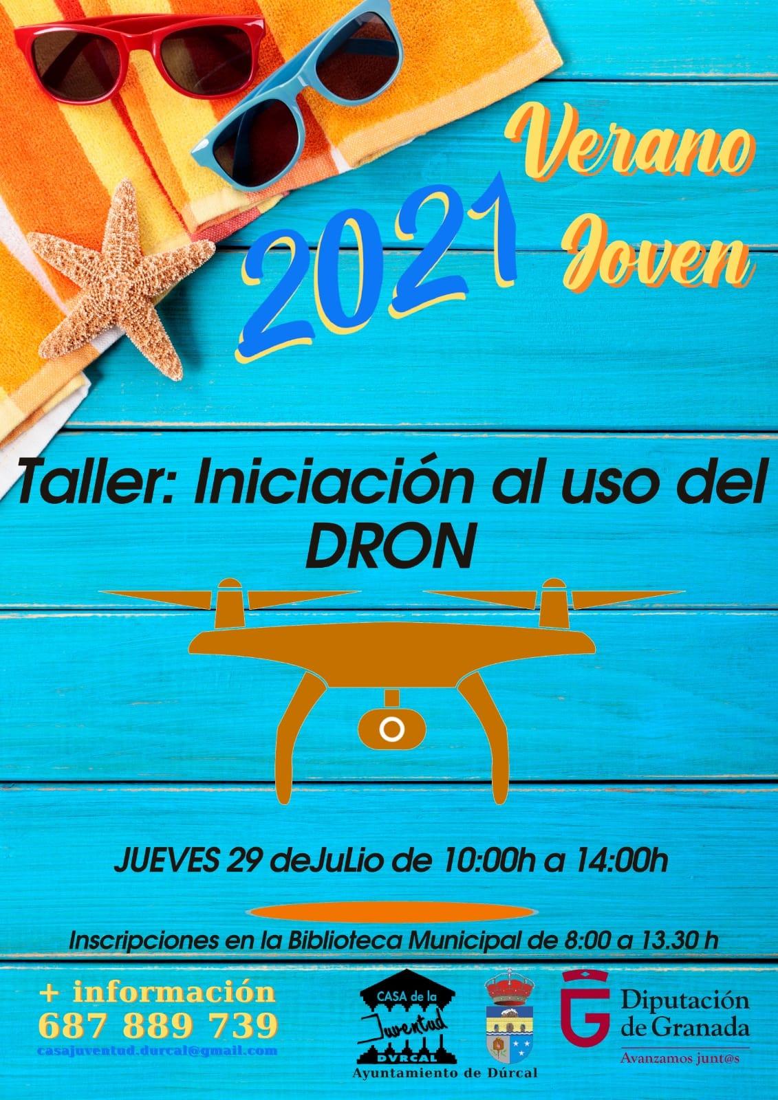 TALLER DE INICIACIÓN AL USO DEL DRON